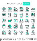 Kitchen Tools ,   Pixel Perfect Icons. 42660839