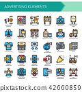 Advertising Elements ,   Pixel Perfect Icons. 42660859