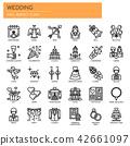 Wedding Elements ,   Pixel Perfect Icons 42661097