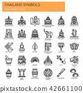 Thailand Symbols ,   Pixel Perfect Icons 42661100