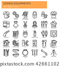 Sewing Elements ,  Pixel Perfect Icons 42661102