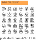 Cloud Technology ,   Pixel Perfect Icons 42661134