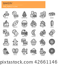 Bakery , Thin Line and Pixel Perfect Icons 42661146