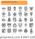 American Football ,  Pixel Perfect Icons 42661148