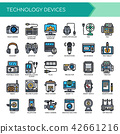 Technology Devices ,   Pixel Perfect Icons 42661216
