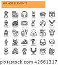 Hip Hop Elements ,   Pixel Perfect Icons 42661317