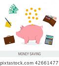 concept, money, flat 42661477