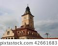 ศาลาว่าการเมืองเก่า Brasov โรมาเนียยุโรป 42661683