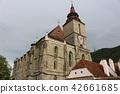 Black Church Brasov ในเมืองเก่าโรมาเนียยุโรป 42661685