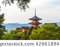 kiyomizudera temple, kiyomizudera, fresh verdure 42661894