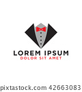 Tie graphic design template 42663083