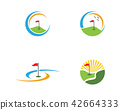 Golf Logo Template icon design 42664333