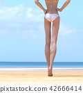 ภาพความงามชุดว่ายน้ำสตรี perming3DCG ภาพประกอบวัสดุ 42666414