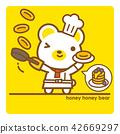 熊 烙餅 煎餅 42669297