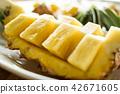 fresh pineapple fruit 42671605