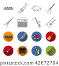 instrument, icon, collection 42672794
