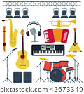 Vector Musical Instruments Isolated 42673349