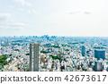 Urban landscape in Tokyo Ikebukuro 42673617