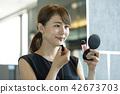 女性化妆 42673703
