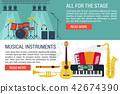 banner instrument music 42674390