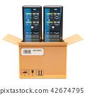 Computer Server Racks inside parcel, delivery 42674795