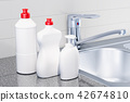 Detergent, cleaning products  in kitchen interior 42674810