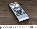 Digital voice recorder, dictaphone 42674817