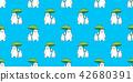 bear, pattern, vector 42680391