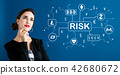 cryptocurrency, risk, woman 42680672
