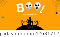 Halloween Banner ,Ghost , boo, Scary ,spooky  42681712
