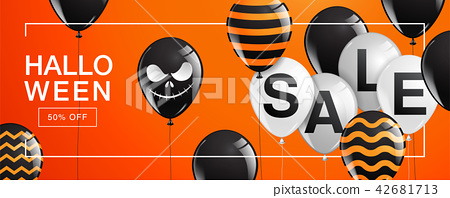 Halloween Banner ,Ghost , Scary ,spooky 42681713