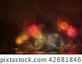 미나토 고베 해상 불꽃 놀이 42681846