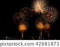 미나토 고베 해상 불꽃 놀이 42681873
