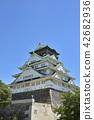 오사카 성, 여름, 성 42682936