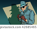 detective spy, shadow 42685465