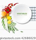 蔬菜 新鮮 食物 42686029