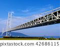 akashi kaikyo bridge, suspension bridge, bridge 42686115