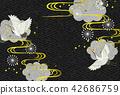 일본식 디자인 배경 이미지 42686759