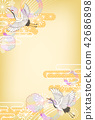 일본식 디자인 배경 이미지 42686898