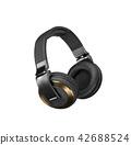 Headphones isolated on white background 42688524