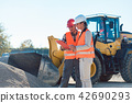 woman, construction, worker 42690293
