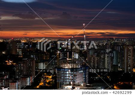 新加坡中心的黃昏 42692299