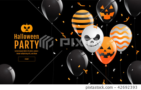 Halloween Banner ,Ghost , Scary ,spooky 42692393