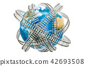 Global railway transportation concept 42693508