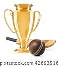 cricket, award, gold 42693516