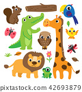 animals character collection design 42693879