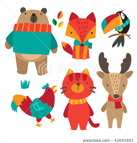 animals character collection design 42693881
