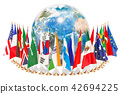 International global communication concept 42694225