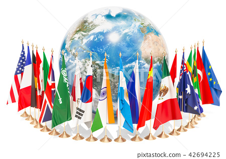 International global communication concept 42694225