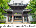 facade view of the temple of general wu in wuzhen 42694649